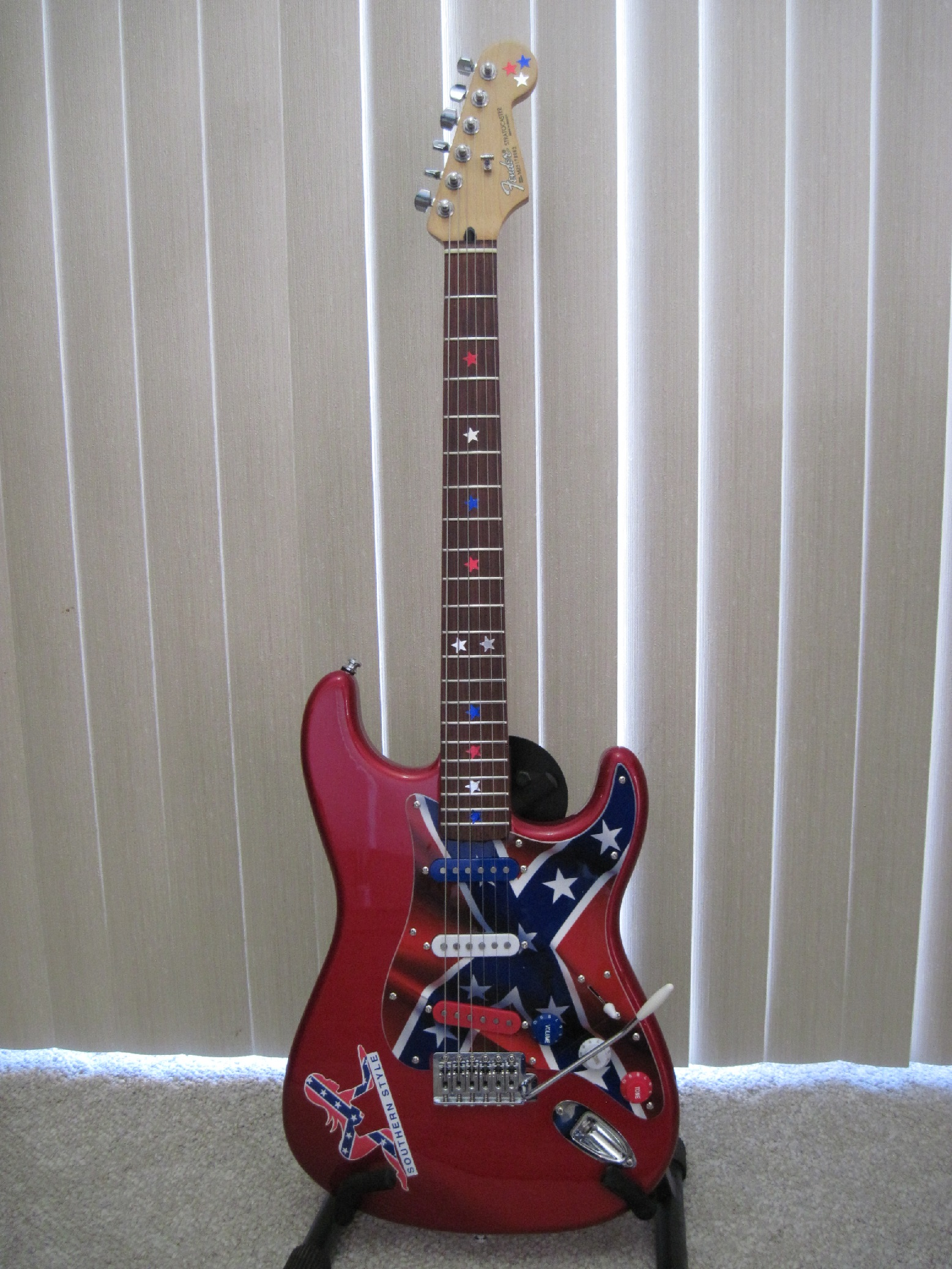 2005 Fender Stratocaster MIM Customized