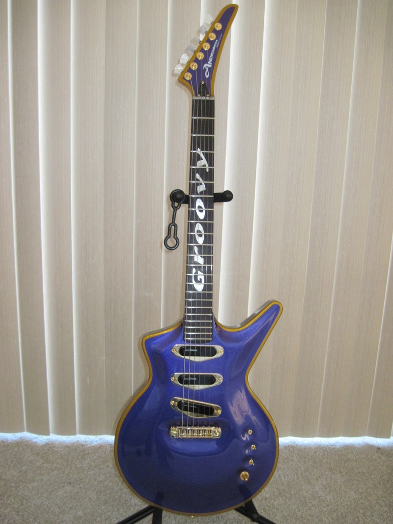 My Custom Built Anderson SG-1 Groovy Guitar
