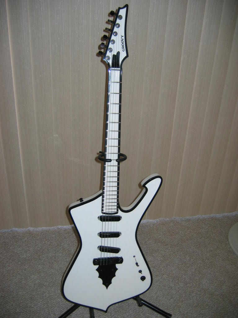 My Custom Built Iceman Built by Westwind Music of Saint George, Utah