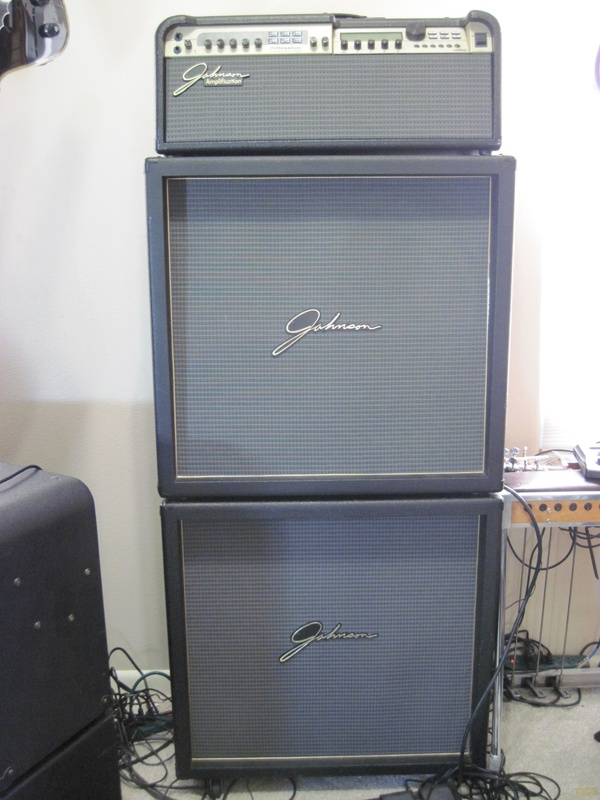 Johnson Millennium JM250 Full Stack With J412V Stereo Cabinets